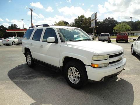 2002 Chevrolet Tahoe for sale at Preferred Auto Sales in Tyler TX