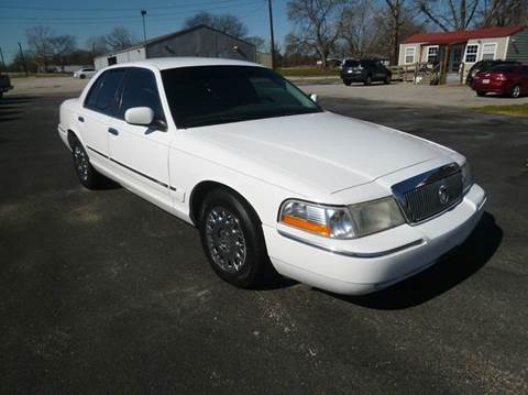 2003 Mercury Grand Marquis for sale at Preferred Auto Sales in Tyler TX