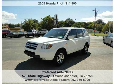 2008 Honda Pilot for sale at Preferred Auto Sales in Tyler TX