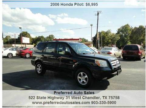2006 Honda Pilot for sale at Preferred Auto Sales in Tyler TX
