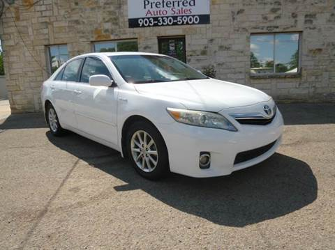 2011 Toyota Camry Hybrid for sale at Preferred Auto Sales in Tyler TX