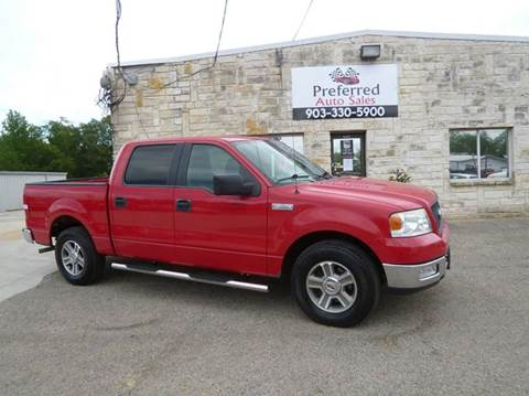 2005 Ford F-150 for sale at Preferred Auto Sales in Tyler TX