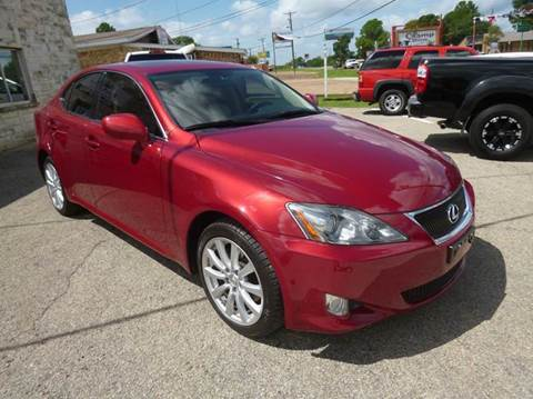 2007 Lexus IS 250 for sale at Preferred Auto Sales in Tyler TX