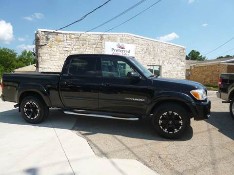 2006 Toyota Tundra for sale at Preferred Auto Sales in Tyler TX