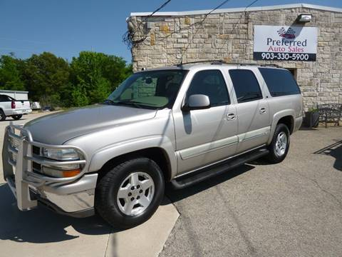 2005 Chevrolet Suburban for sale at Preferred Auto Sales in Tyler TX