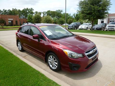 2012 Subaru Impreza for sale at Preferred Auto Sales in Tyler TX