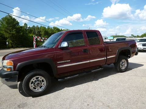 2002 GMC Sierra 2500HD for sale in Tyler, TX