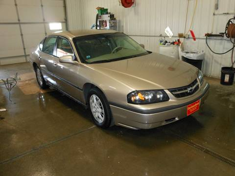 2002 Chevrolet Impala for sale at Grey Goose Motors in Pierre SD