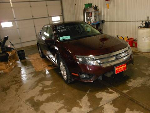 2012 Ford Fusion SE for sale at Grey Goose Motors in Pierre SD