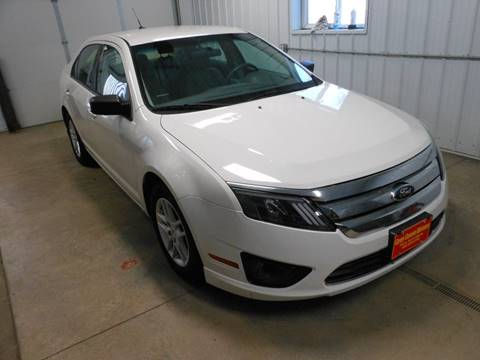 2012 Ford Fusion S for sale at Grey Goose Motors in Pierre SD