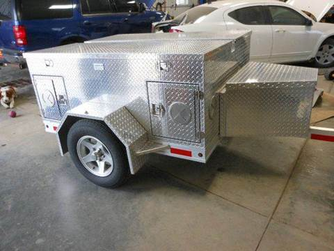 2014 Alum-line dog trailer for sale at Grey Goose Motors in Pierre SD