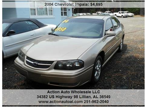 2004 Chevrolet Impala for sale in Lillian, AL