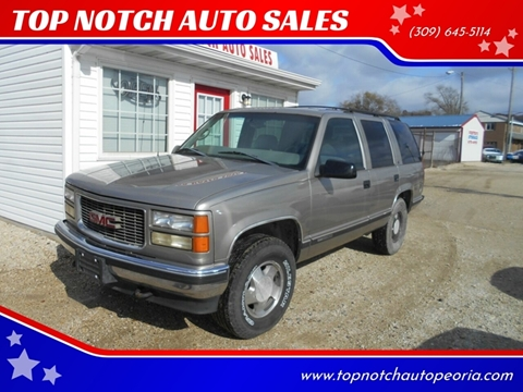 1999 GMC Yukon for sale in West Peoria, IL