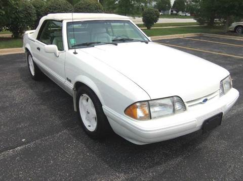 1993 Ford Mustang for sale at Southwest Corvettes and Classics in Mokena IL