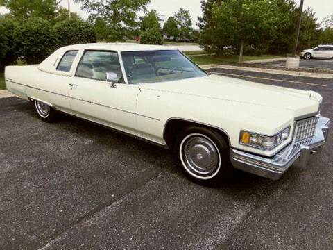1976 Cadillac DeVille for sale at Southwest Corvettes and Classics in Mokena IL