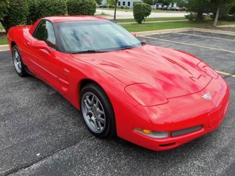 2003 Chevrolet Corvette for sale at Southwest Corvettes and Classics in Mokena IL