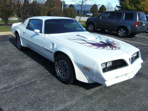 1978 Pontiac Trans Am for sale at Southwest Corvettes and Classics in Mokena IL