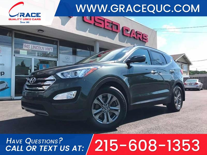 2014 Hyundai Santa Fe Sport for sale at GRACE QUALITY USED CARS in Morrisville PA