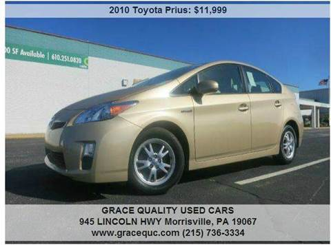 2010 Toyota Prius for sale at GRACE QUALITY USED CARS in Morrisville PA