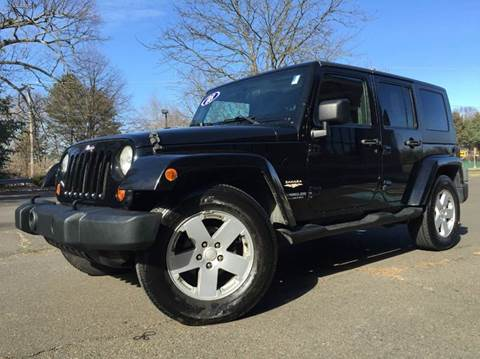 2007 Jeep Wrangler Unlimited for sale at GRACE QUALITY USED CARS in Morrisville PA