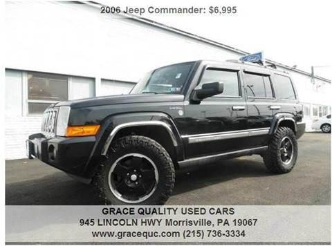 2006 Jeep Commander for sale at GRACE QUALITY USED CARS in Morrisville PA