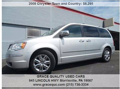 2008 Chrysler Town and Country for sale in Morrisville, PA