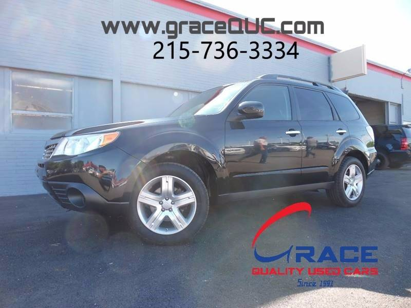 2009 Subaru Forester for sale at GRACE QUALITY USED CARS in Morrisville PA