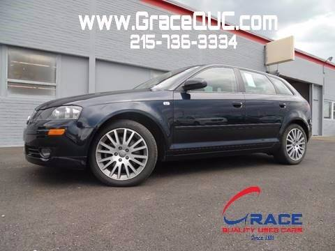 2008 Audi A3 for sale at GRACE QUALITY USED CARS in Morrisville PA