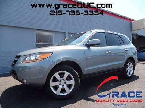 2009 Hyundai Santa Fe for sale at GRACE QUALITY USED CARS in Morrisville PA