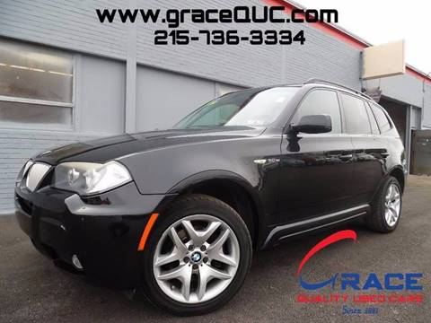 2008 BMW X3 for sale at GRACE QUALITY USED CARS in Morrisville PA