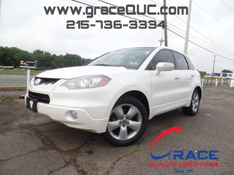 2009 Acura RDX for sale at GRACE QUALITY USED CARS in Morrisville PA