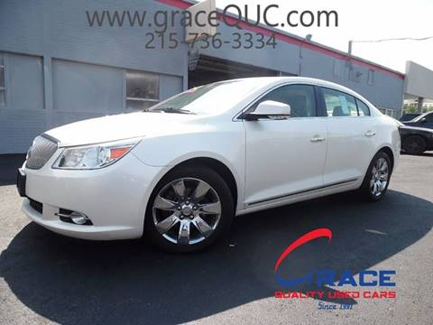2012 Buick LaCrosse for sale at GRACE QUALITY USED CARS in Morrisville PA