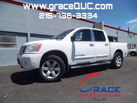 2006 Nissan Titan for sale at GRACE QUALITY USED CARS in Morrisville PA