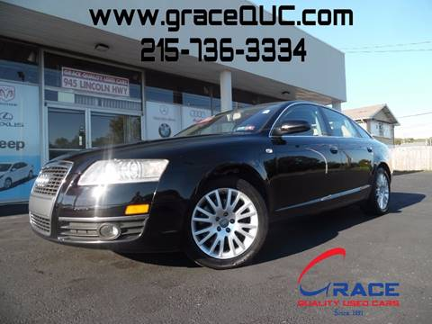 2006 Audi A6 for sale at GRACE QUALITY USED CARS in Morrisville PA