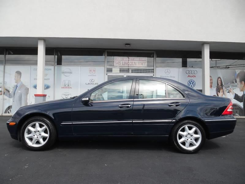 2004 Mercedes-Benz C-Class for sale at GRACE QUALITY USED CARS in Morrisville PA