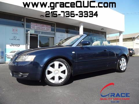 2006 Audi A4 for sale at GRACE QUALITY USED CARS in Morrisville PA