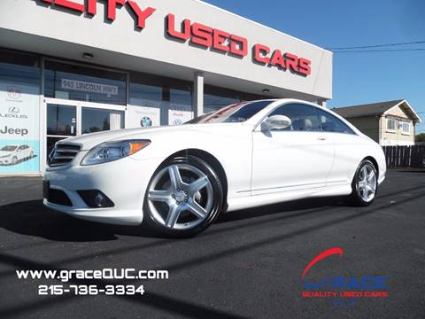 2008 Mercedes-Benz CL-Class for sale at GRACE QUALITY USED CARS in Morrisville PA
