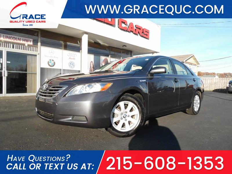 2009 Toyota Camry Hybrid for sale at GRACE QUALITY USED CARS in Morrisville PA