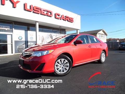 2014 Toyota Camry for sale at GRACE QUALITY USED CARS in Morrisville PA