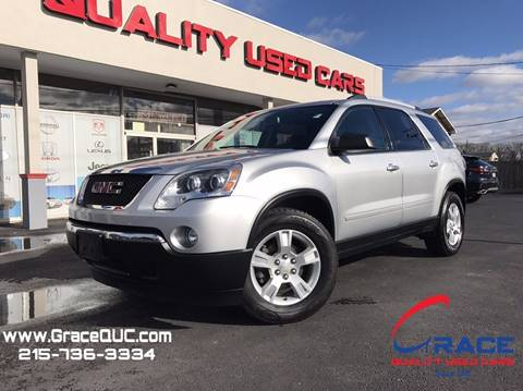 2012 GMC Acadia for sale at GRACE QUALITY USED CARS in Morrisville PA
