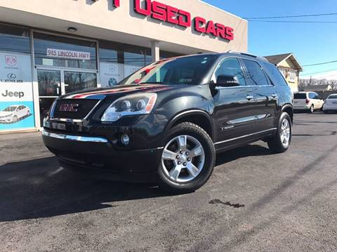 2008 GMC Acadia for sale at GRACE QUALITY USED CARS in Morrisville PA