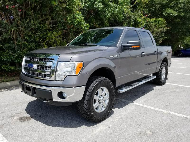 2013 Ford F-150 4x4 XLT 4dr SuperCrew Styleside 5.5 ft. SB - Fort Walton Beach FL