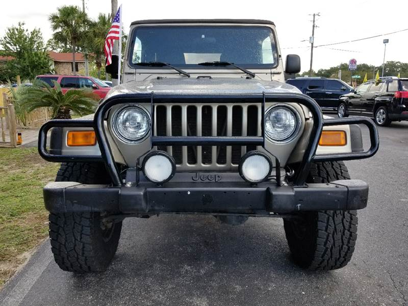 2004 Jeep Wrangler Unlimited 4WD 2dr SUV - Fort Walton Beach FL