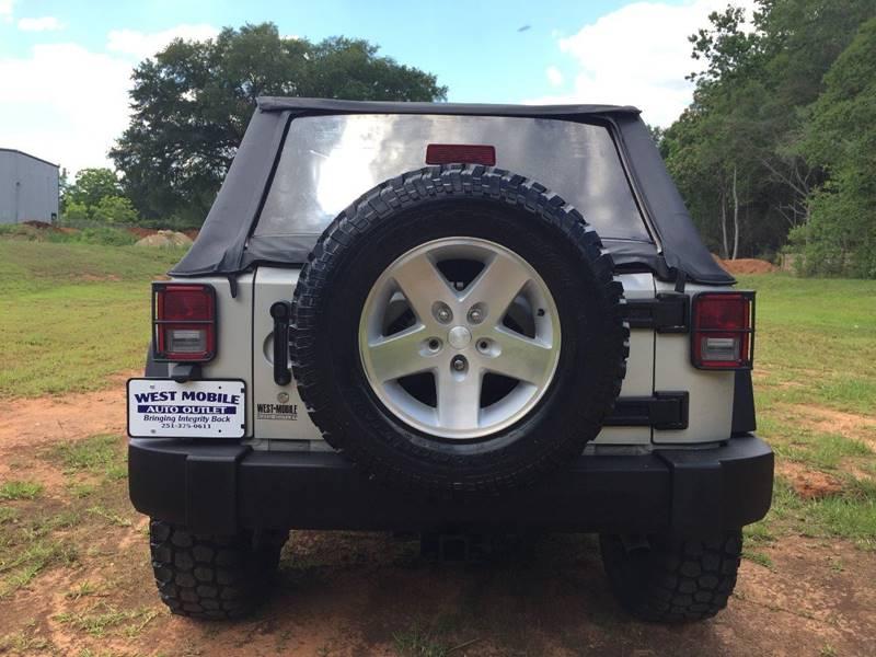 2007 Jeep Wrangler Unlimited 4x4 X 4dr SUV - Mobile AL