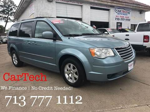 2009 Chrysler Town and Country for sale at CarTech Auto Sales in Houston TX