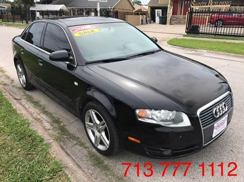 2007 Audi A4 for sale at CarTech Auto Sales in Houston TX