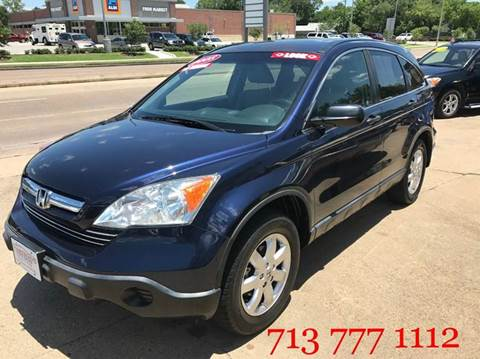 2008 Honda CR-V for sale at CarTech Auto Sales in Houston TX