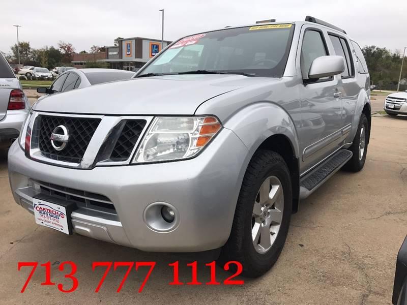 2010 Nissan Pathfinder SE In Houston TX - CarTech Auto Sales