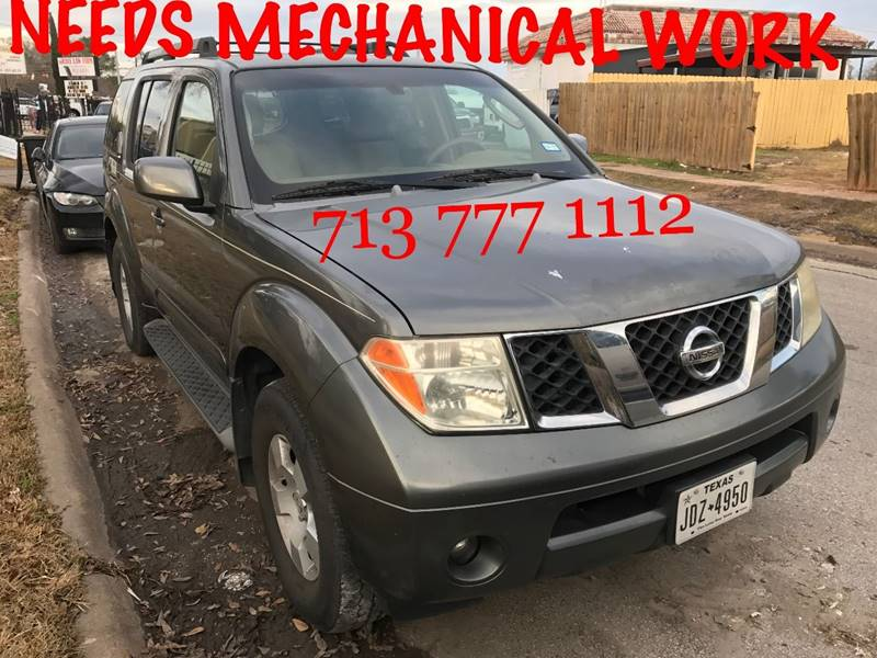 2005 Nissan Pathfinder For Sale At CarTech Auto Sales In Houston TX
