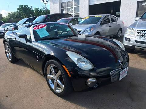 2009 Pontiac Solstice for sale in Houston, TX